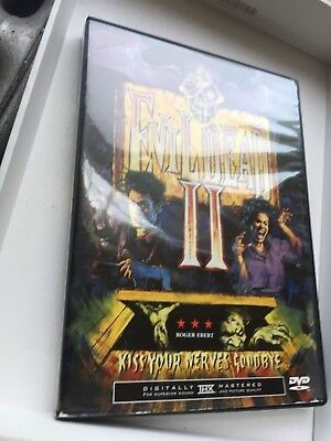 Evil Dead Ii - Bruce Campbell Sarah Berry 1987 Horror Dvd
