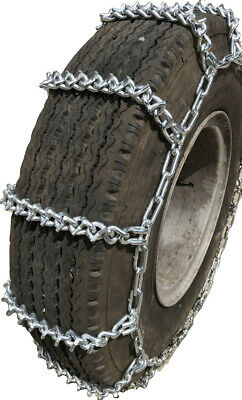 V-Bar Snow Chains 8-19.5, 8 19.5 Extra Heavy Duty V-Bar Tire Chains