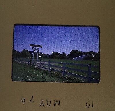 Vintage Lot of 26 1976 35mm Slides Of Vacant Land & Horse Farm Ocala FL~Old FL