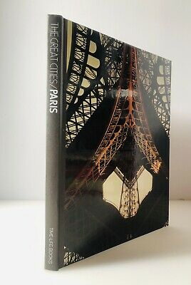 Time Life Books The Great Cities Paris Vintage 1st Edition Hardcover 1977