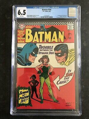 Batman #181-First Silver Age Poison Ivy-CGC 6.5-White Pages