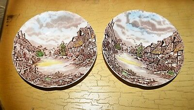 Johnson Brothers China Olde English Countryside England 2 Berry Bowls