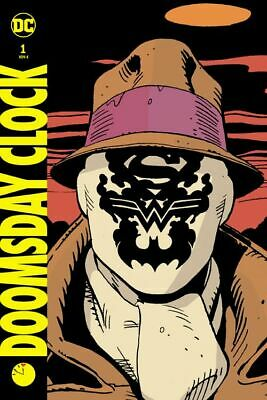 DOOMSDAY CLOCK HC deutsch VARIANT-HARDCOVER #1,2,3+4 WATCHMEN G.Johns + G.Frank