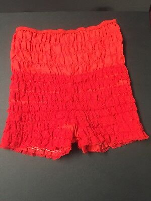 Malco Modes 50s Rockabilly Vintage Frilly Pettipants Swing Sissy Bloomers Size M