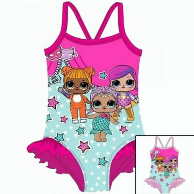 LOL Surprise Swimsuit/Girls Swimming Costume/Doll Bather Officially licensed