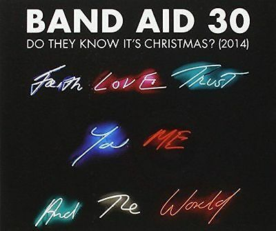 Band Aid 30 - Do They Know It's Christmas (NEW SEALED 4 track CD single) (2014)