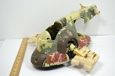 Star Wars The Power Of The Force Boba Fett's Slave 1 Kenner 1996