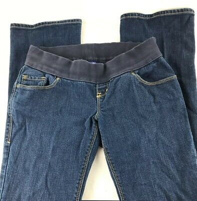 2679d7459cd9d Old Navy Women's Stretch Denim Dark Wash Skinny Maternity Jeans Sz -1  (30X30)