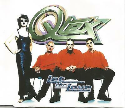 Q-Tex - Let The Love CD Single (1996)