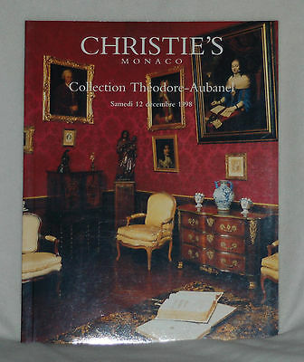 CHRISTIE'S Monaco: Collection Theodore-Aubanel 12 December 1998 Auction Catalog