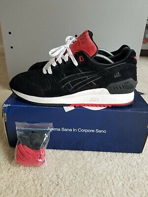 finest selection be1a9 d61ed ASICS GEL LYTE Respector Concepts Black Widow Size 10.5 H51Hk Limited 250  Pairs