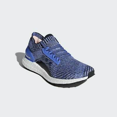 Adidas Pure Boost X Element Women Shoes Trace BlueAsh Green