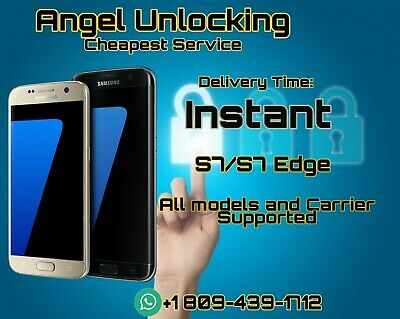 INSTANT G930 G935 G891 S7 / S7 Edge Unlock Service All carrier and models