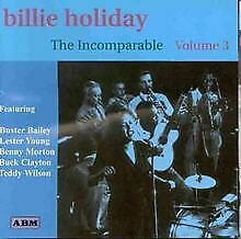 Billie Holliday - The Incomparable, Vol.3 by Billie Hol... | CD | condition good