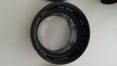 SONY VCL-1549 X1.5 Tele Conversion Lens ~ Made in Japan w/ Covers,Case