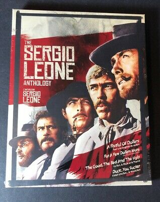 The Sergio Leone Anthology [ 4 Movies in 1 Pack ] (Blu-ray Disc) NEW