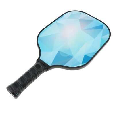 Carbon Fiber Face Pickleball Paddle Cover Racket PP Honeycomb Composite Core