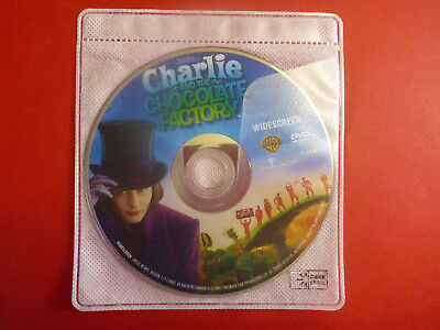 Charlie and the Chocolate Factory DVD Disc ONLY Bilingual