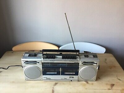 Retro Philips D8334 Cassette Tape Player Boombox Ghettoblaster Rare