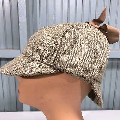 492b46a95 HARRIS TWEED COUNTY Hat Made By