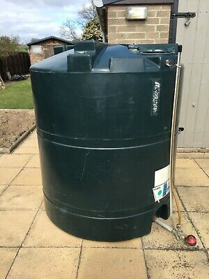 TITAN V 1300 LITRE HEATING OIL TANK WITH FITTINGS SIZE HEIGHT 1270 X 1250mm DIA