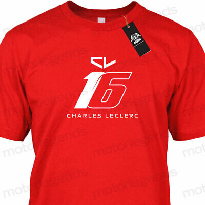 CL16 Team Scuderia F1 Racing Charles Leclerc Fan Supporter Motorsport T-Shirt