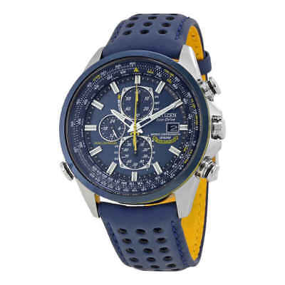Citizen Eco Drive Blue Angels World Chronograph Men's 42mm Watch AT8020-03L
