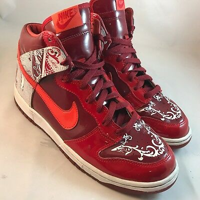 new style ca96c 50ca6 Nike Dunk High Premium Dontrelle Willis Collection 313599-681 Men s Size  9  42.5