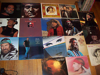 LOT 17 Willie Nelson NEAR MINT Yesterdays Wine/Me & Paul/Red Headed/Troublemaker