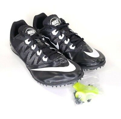 c4abaeb8a Nike Zoom Rival S 7 Mens Size 12 Track Sprint Run Racing Shoes Black 616313  001