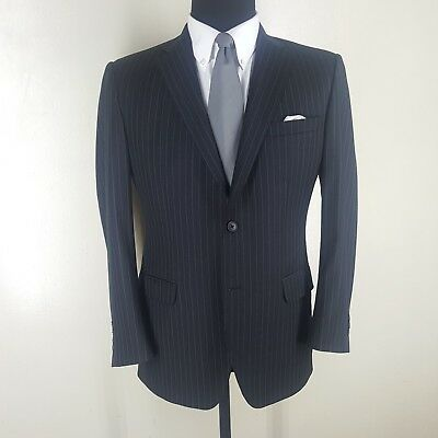 PHINEAS COLE Only At Paul Stuart  Striped Sport Coat  2 Btn Side Vents  42 -44 R