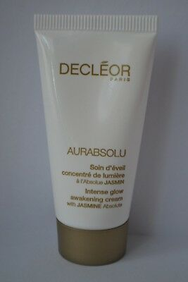 Decleor Aurabsolu Intense Glow awakening cream travel size 15ml RRP 50ml £50