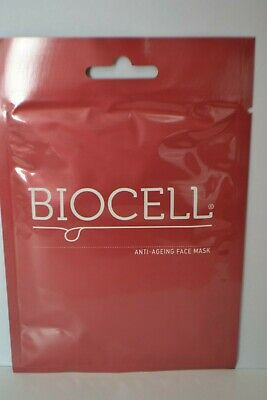 Sealed Valentis Biocell Anti-ageing face sheet mask single RRP £6.50