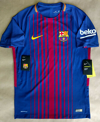 e0628fa3 Nike Fc Barcelona Jersey Local 2017/18 Short Sleeves Authentic 847190-457  Nwt