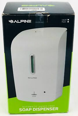 Alpine Wall Mountable Touchless Universal Liquid Soap Dispenser