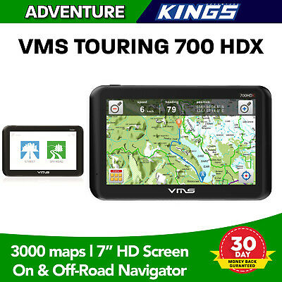 "7"" Truck Car GPS Navigator HD Screen Bluetooth Free Maps"