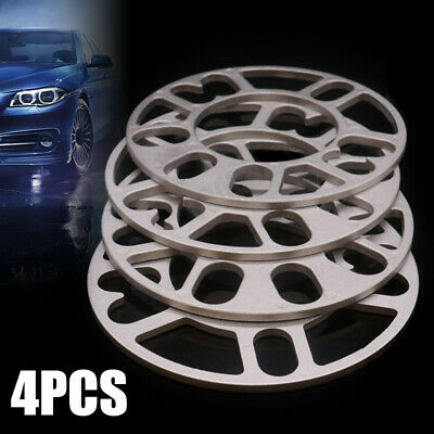 Aluminum Alloy 5mm 4x Auto Car Wheel Tire Spacers Adaptor Shims Plate US