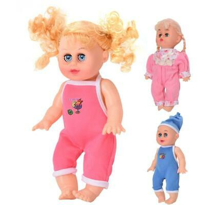 Silicone Singing Baby Doll Model Music Toys Girl for Toddler Doll Toys Gifts BT