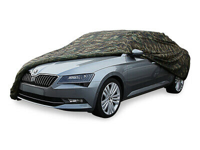 Car Cover Camouflage Autoabdeckung for Skoda Superb III Limousine Typ 3V3