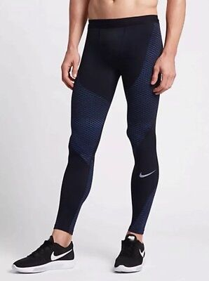c4d31713a914d Nike Men's Pro Zonal Strength Compression Running Tights Size M Black Free  P&P