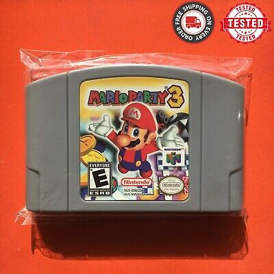 Mario Party 3 - For Nintendo 64 Video Game Cartridge N64 Console US Version