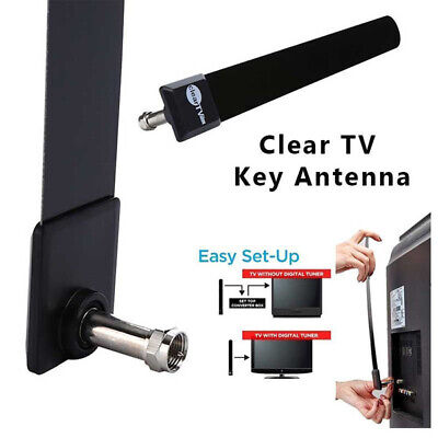 Clear TV Key HDTV FREE HD TV Indoor Digital enhanced signal Antenna Ditch Cable