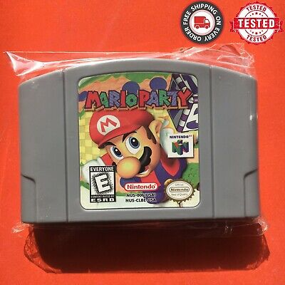 Mario Party - For Nintendo 64 Video Game Cartridge For N64 Console US Version