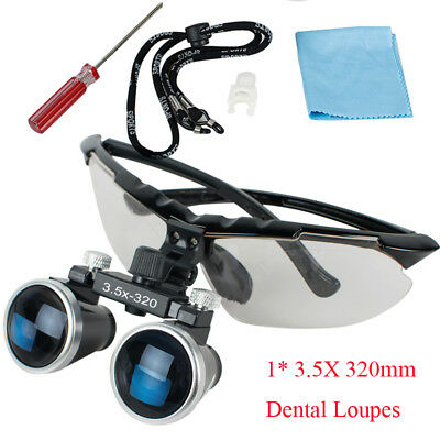 TOP SALE 3.5X320mm Dental Surgical Medical Binocular Loupes Magnifying Glass