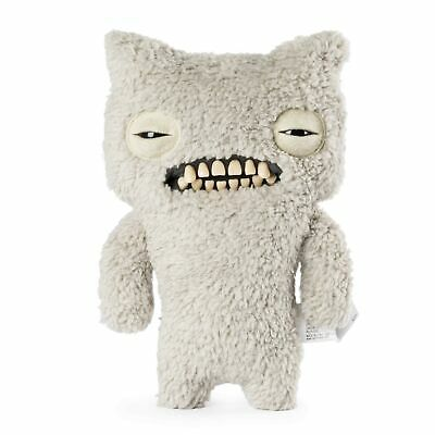 "Fuggler 20102909 Funny Ugly Monster, 9"" Munch (Fuzzy Grey) Plush Creature - BNIB"