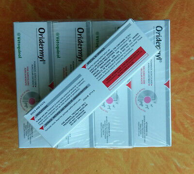 Vetoquinol Oridermyl for Dogs & Cats ear infections anti-inflammatory 1-6 Tubes