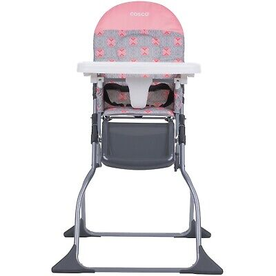 Baby High Chair Full Size Adjustable Tray Children Feeding Seat Kids Food Eating