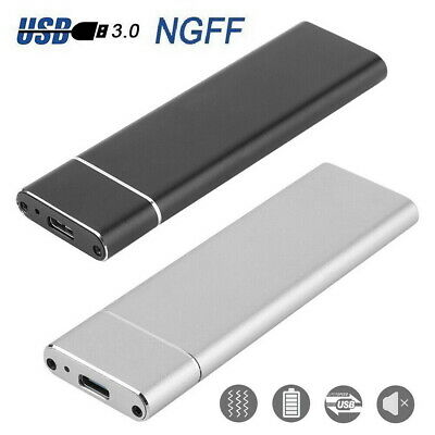 M.2 NGFF SSD SATA TO USB 3.1 Type-C External Enclosure Storage Case Adapter AU