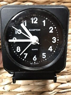 Vintage NS Norfolk Southern Travel Alarm Clock With Alarm Railroad Collector