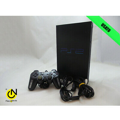 Sony PlayStation 2 PS2 FAT SCPH-50004 Black